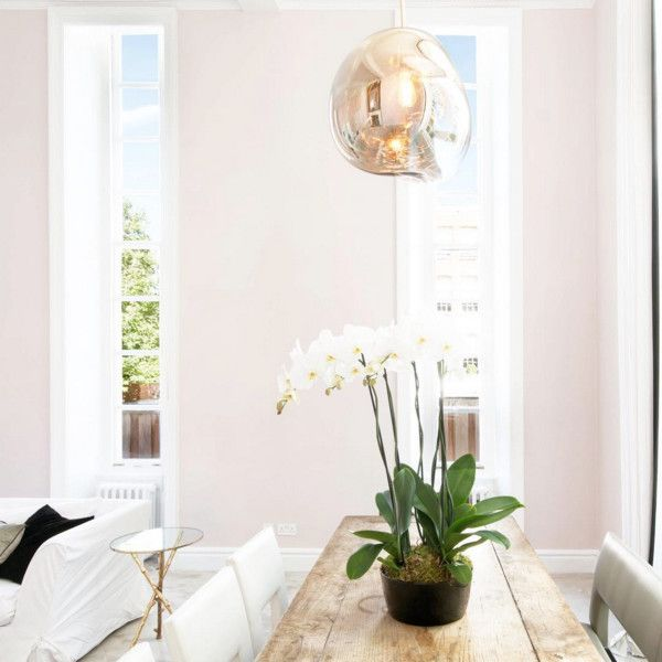 Faint Blush Pink Living Room Walls Pink Dining Rooms Pink Bedroom Walls #paint #living #room #pictures