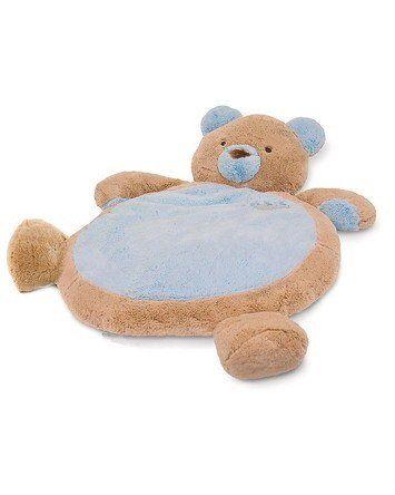 Blue Bear Bestever Baby Mat By Mary Meyer Blue Teddy