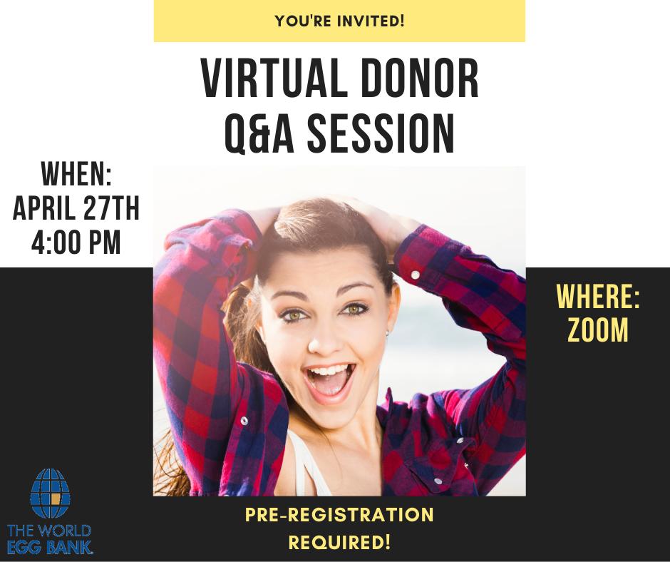 Virtual Donor Q&A