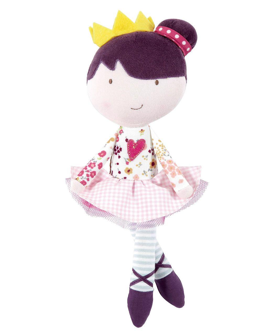 Made With Love Princess Doll Girls Pink Mamas