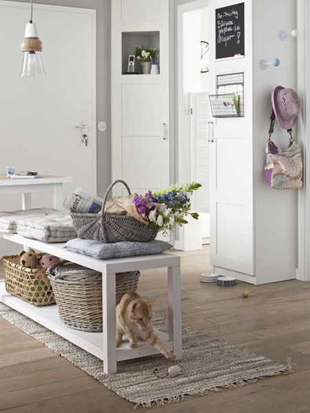 ordnung im flur wir haben drei sch ne ideen alles in ordnung pinterest. Black Bedroom Furniture Sets. Home Design Ideas
