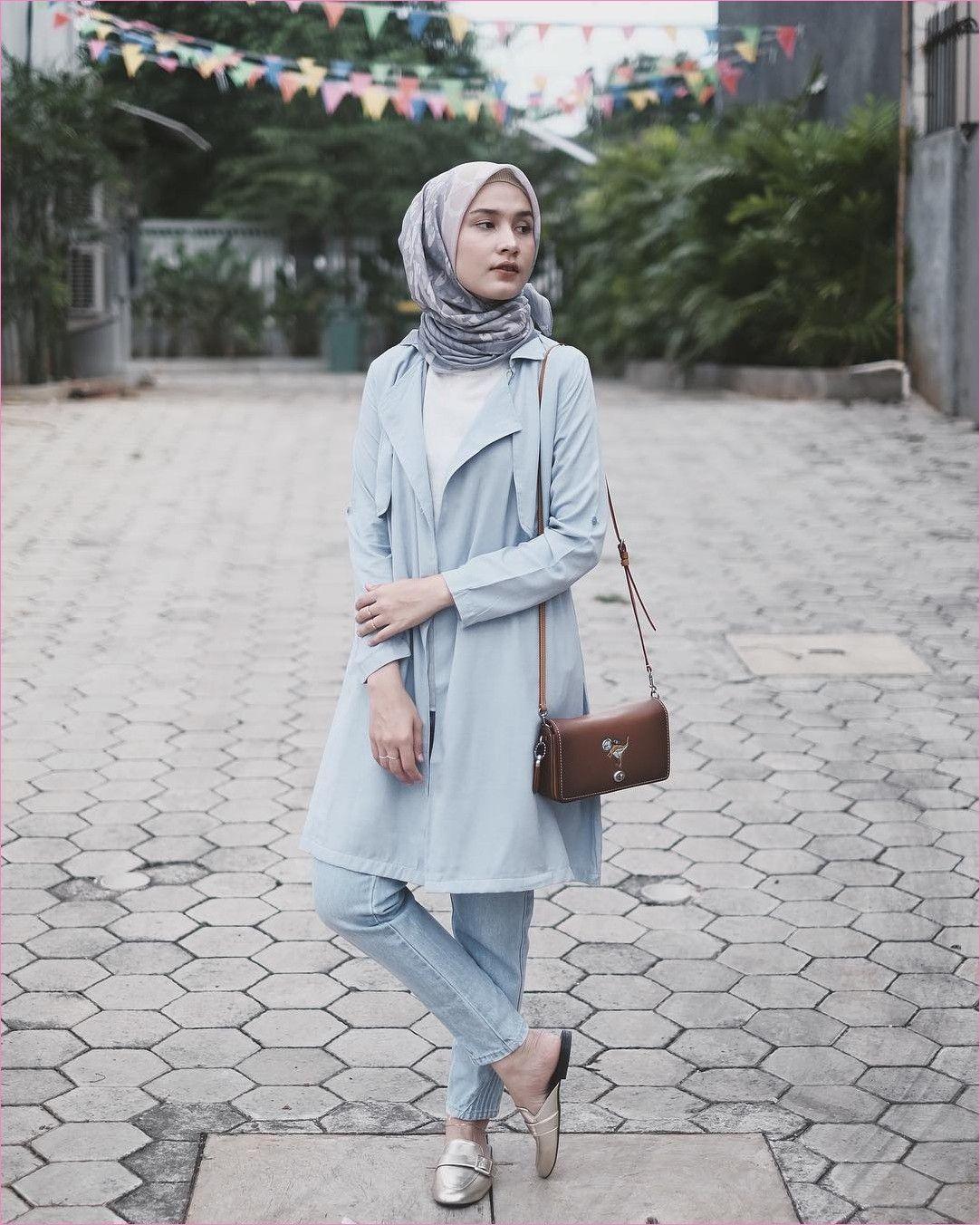 Outfit Baju Hijab Casual Untuk Ke Kantor Ala Selebgam 2018 ...