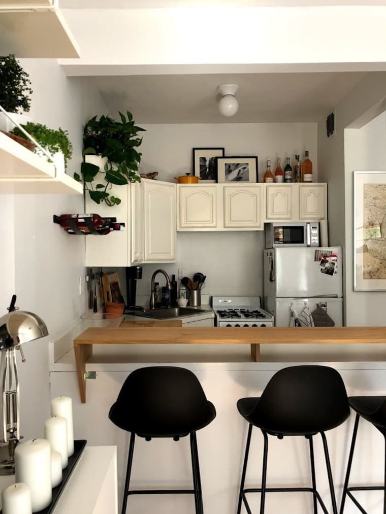 A Tiny 275 Square Foot Nyc Studio Is Packed With Small Space Ideas
