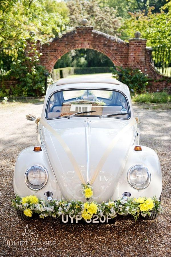 Perfekter Brautwagen Fur Die Hippie Hochzeit Ein Schon Geschmuckter