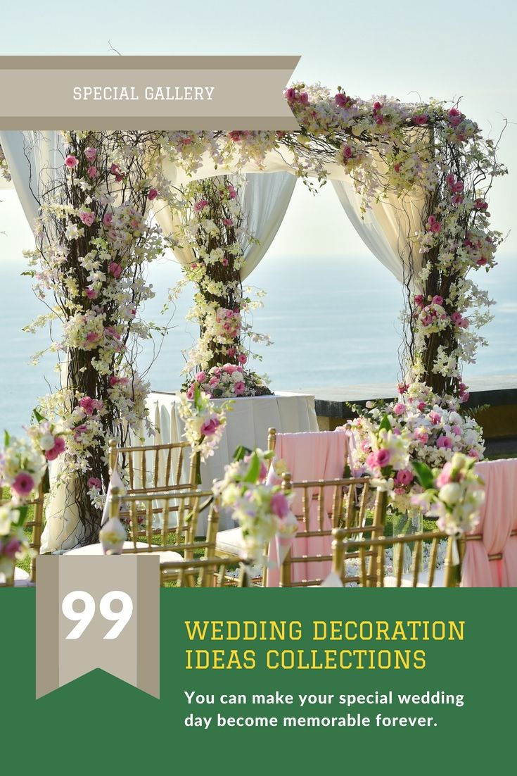Dress Up Your Own Wedding Party Decor By Using One Of These Unique