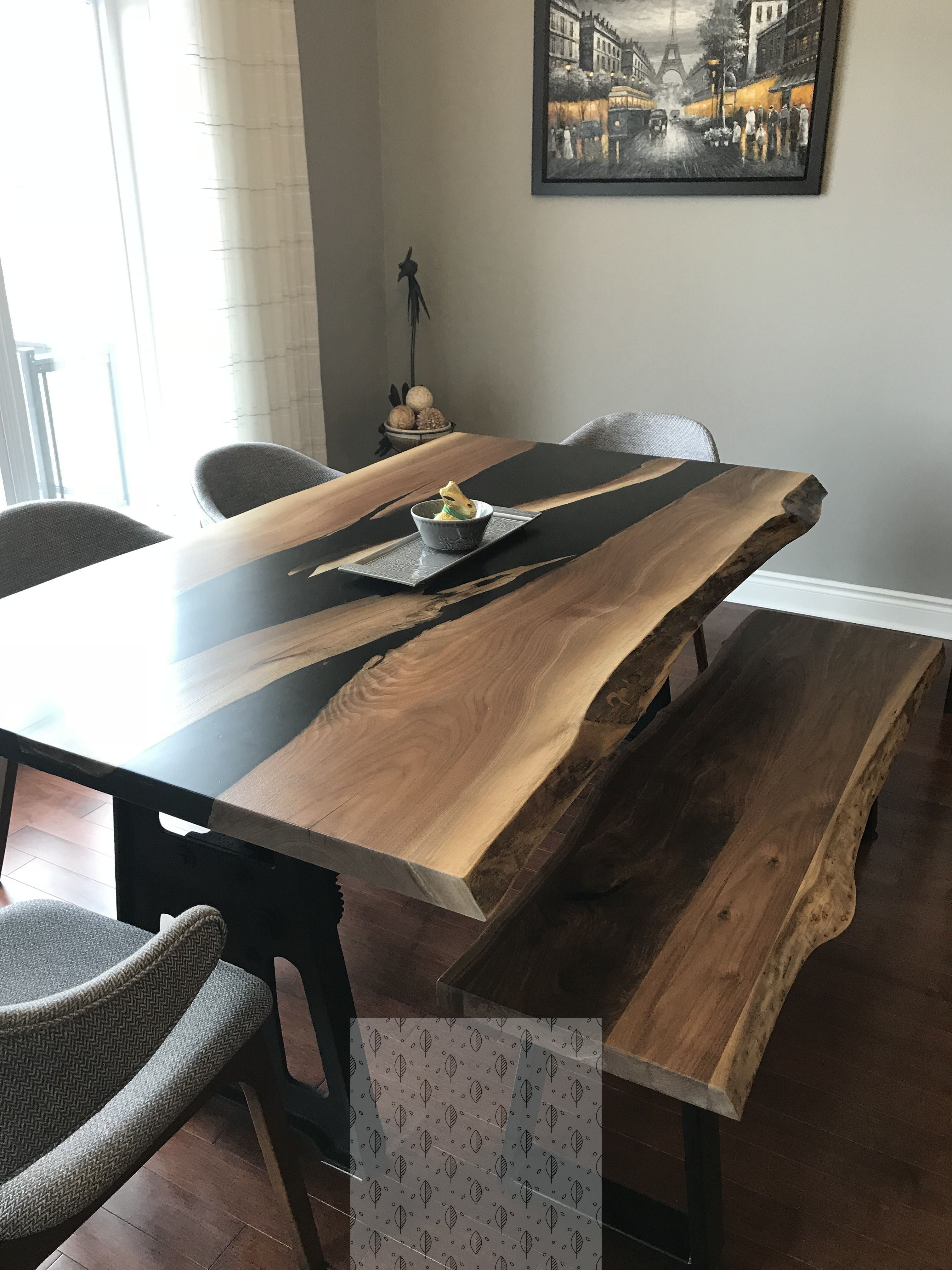 14 Mesmerizing Beginner Wood Working Easy Diy Ideas Unique Dining Tables Dining Table Design Wood Resin Table