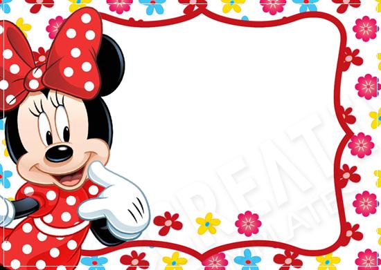 Minnie014 Freebies Artes Grátis Cumpleaños Etiquetas E Minios