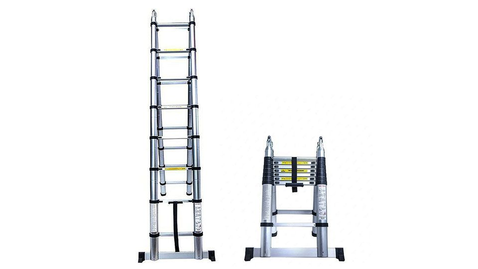 Senrob Telescoping Extension Ladder Cool Things To Buy Cool Gadgets Cool Technology Gifts