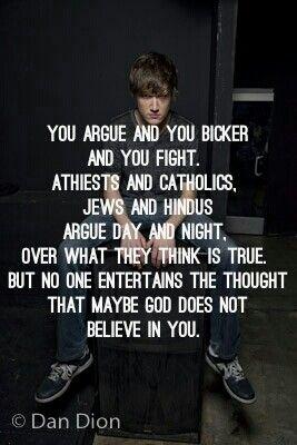 Is bo burnham an atheist