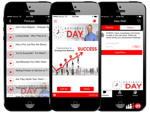 Welcome to Business by Day! If you are looking for real-world, down-to-earth advice and ideas to help you manage and grow your business, then you've come to the right place!  Business by Day's App is for entrepreneurs, business owners, managers, and leaders.   https://itunes.apple.com/us/app/business-by-day/id901960655?ls=1&mt=8  https://play.google.com/store/apps/details?id=com.app_rickday.layout