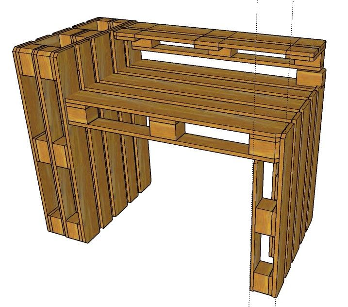 pallet bar bench pallet desk drawing plans custom yours with us today pallet