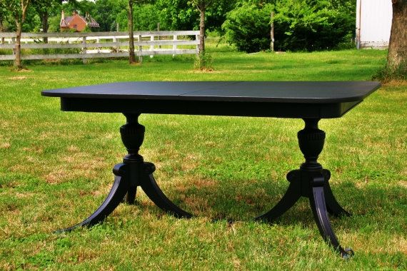 Fabulous Duncan Phyfe Style Dining Table Painted Google Search Home Interior And Landscaping Ologienasavecom