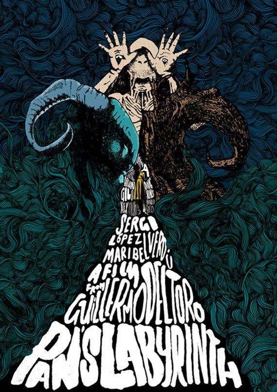 Pans Labyrinth-Film-Poster