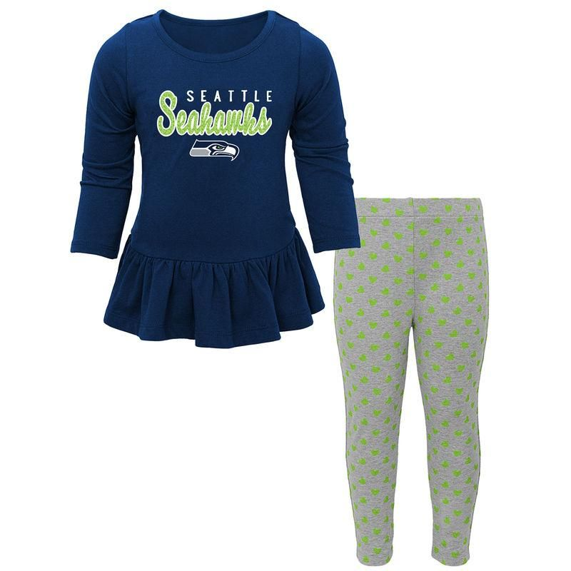 42b369d830 Seattle Seahawks NFL Toddler Girls
