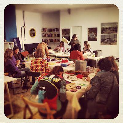 grupo de costura PLOCC, de Sonia Hermosín