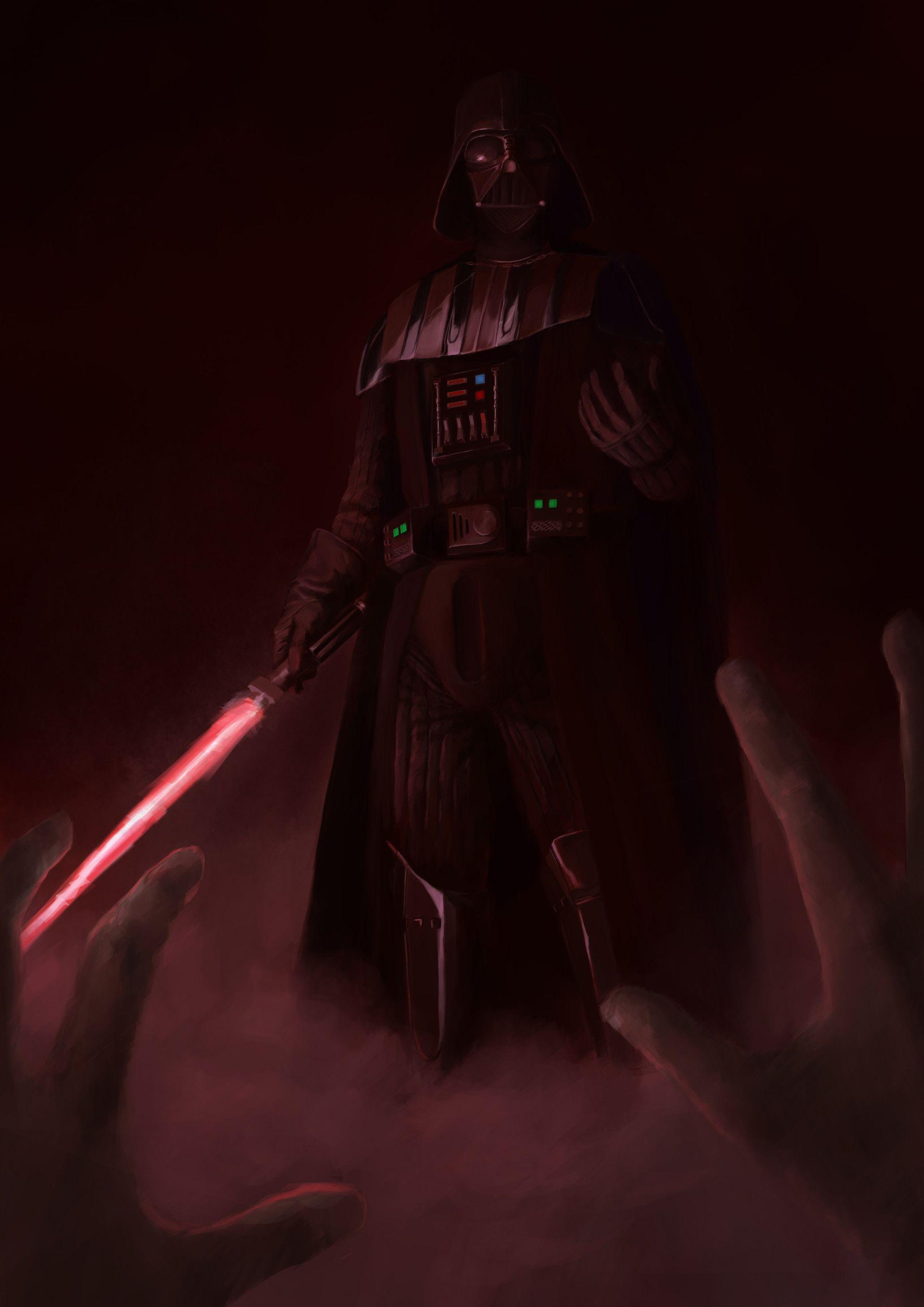 Artstation Vader Wip Kade Khan Star Wars Background Star Wars Pictures Star Wars Poster