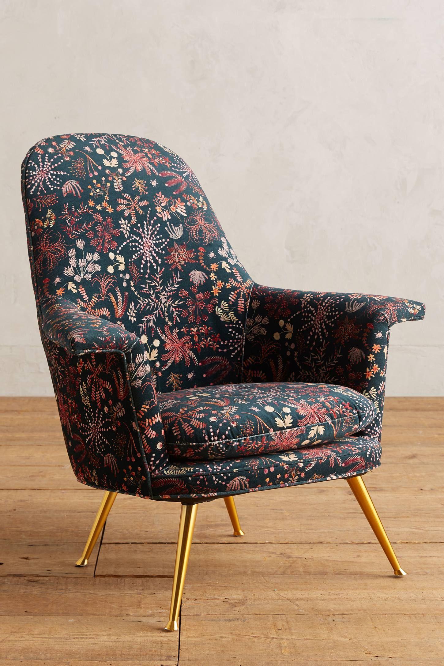 Sylvania Printed Kimball Chair