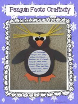 Plenty of Penguins: A Non-Fiction Unit on 10 Different Species of Penguins! #penguincraft