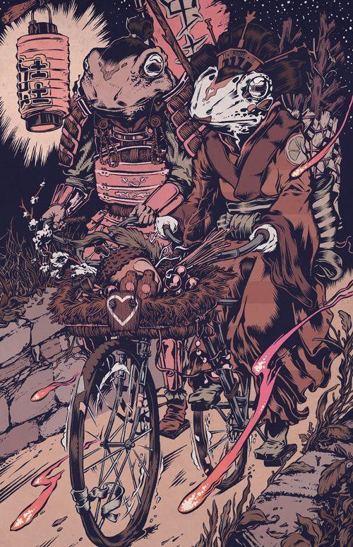 "Lovers by Lantern Light"" Art Print by Conor Nolan"
