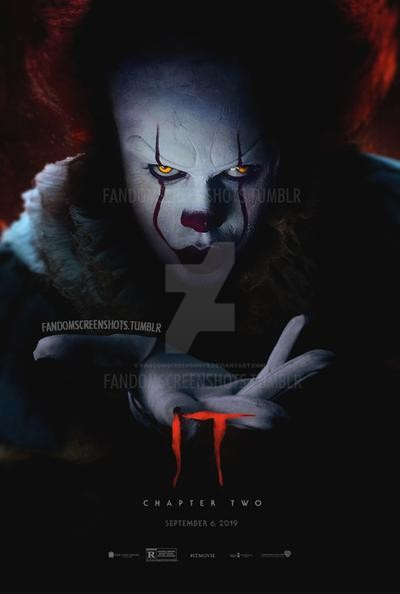 It Chapter 2 Poster Design By Fandomscreenshots On Deviantart In 2020 Pennywise The Clown Pennywise Poster Halloween Poster