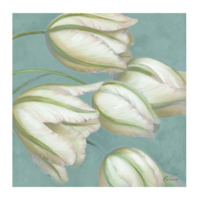 Could do two of these. Tulips Blanches Giclee | Ballard Designs