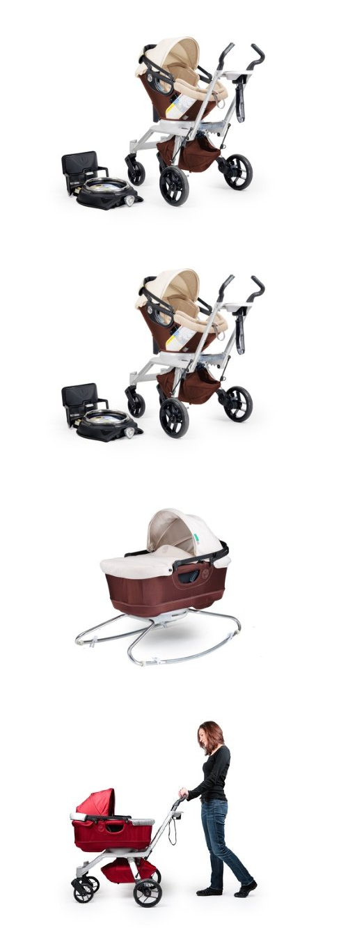 Orbit Baby 3 Piece Travel System With Mocha
