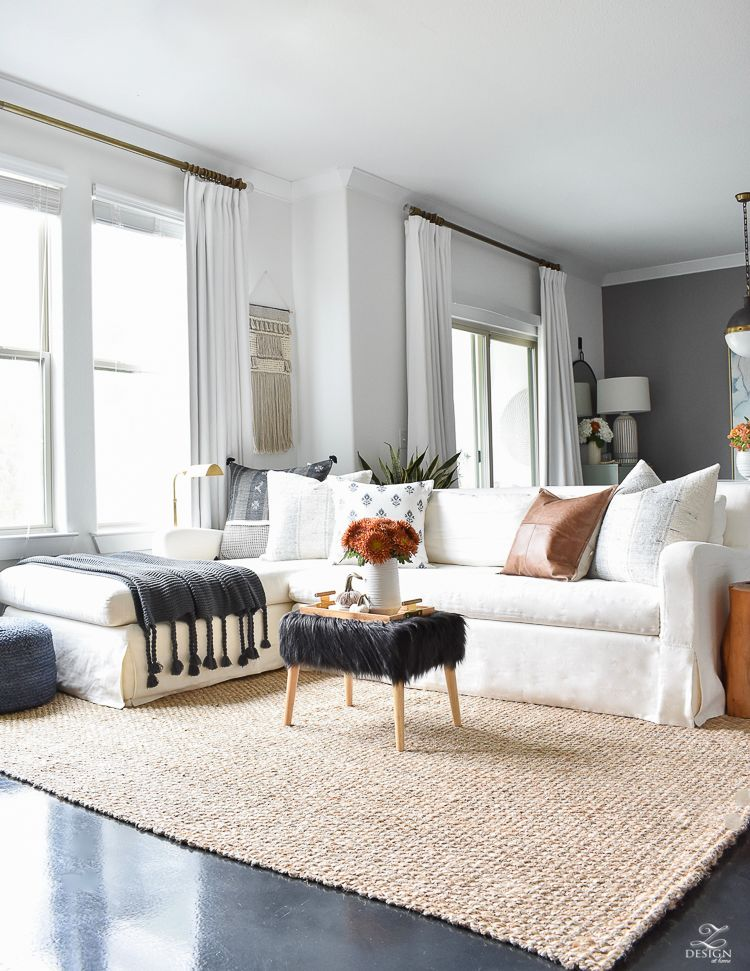 Simple Modern Fall Decorating Ideas With Images Winter Living