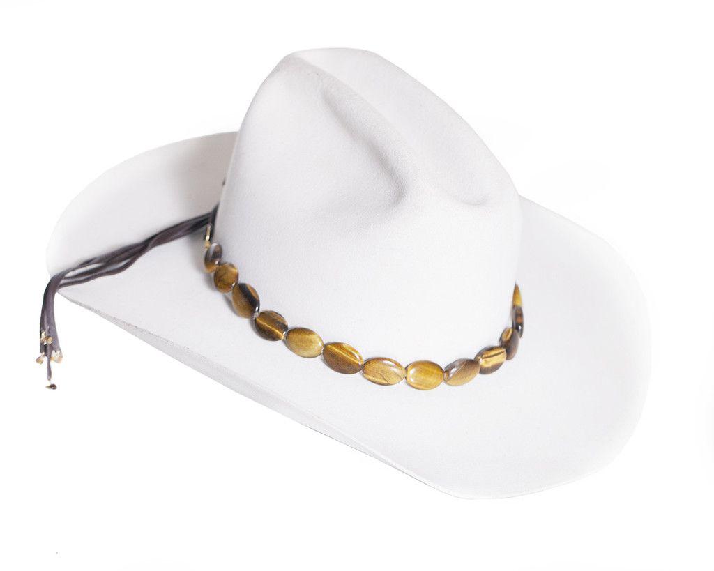 97c80837f5597 Tigers Eye Hat Band Diy Hat