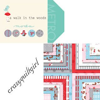 Crazy Quilt Girl--A Walk in the Woods
