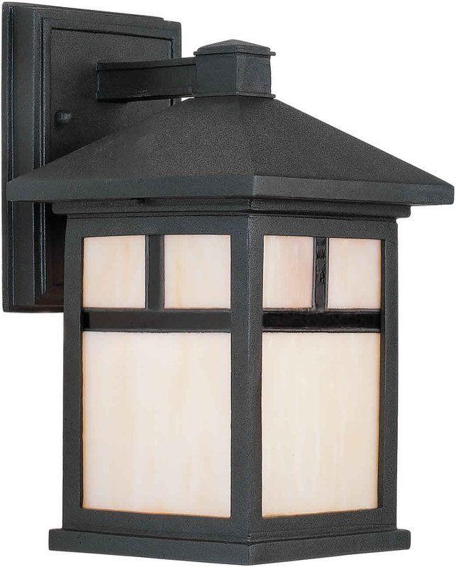 Forte Lighting 1773 01 Craftsman Outdoor Lighting Outdoor Wall Lighting Black Outdoor Wall Lights