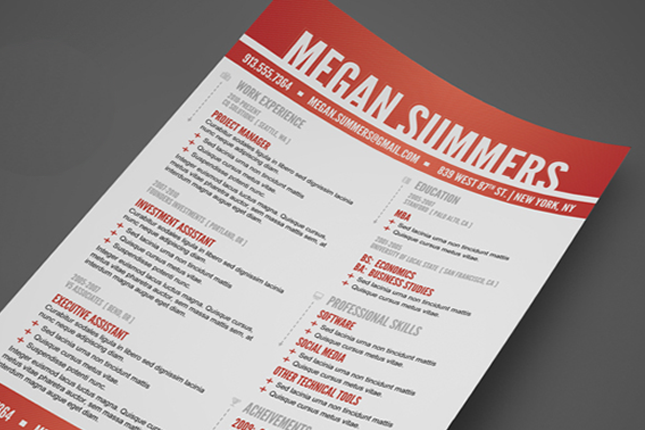 Resume Sites Inspiration 10 Designsavvy Sites That Will Redesign Your Resume For You Via .