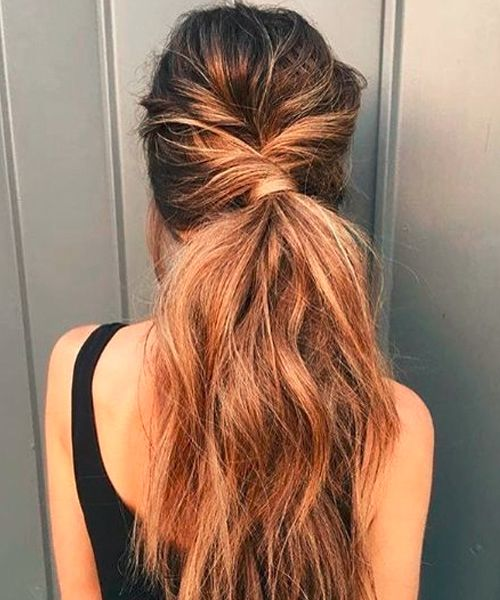 Long Thick Ponytail Hairstyles 2018 For Women Wedding Hairstyles