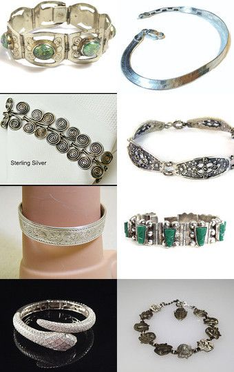 VJSE Group Team Sterling Bracelets by Jan on Etsy--Pinned with TreasuryPin.com