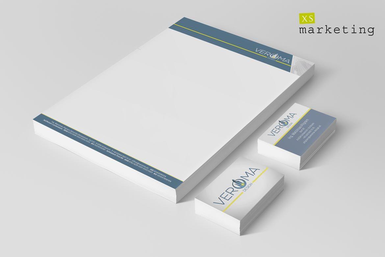 Logo Entwickeln Naturemium Briefpapier Visitenkarten Veroma