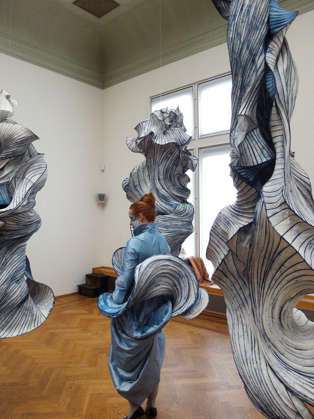 Peter Gentenaar --   Anne in Paperland _   Pulchri 2011
