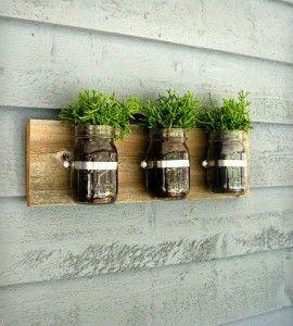 Como Fazer um Vaso de Planta com Potes