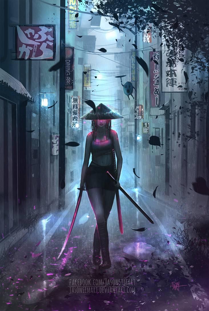 Samurai Girl By Simartworks On Deviantart Samurai Anime Samurai Wallpaper Samurai Concept
