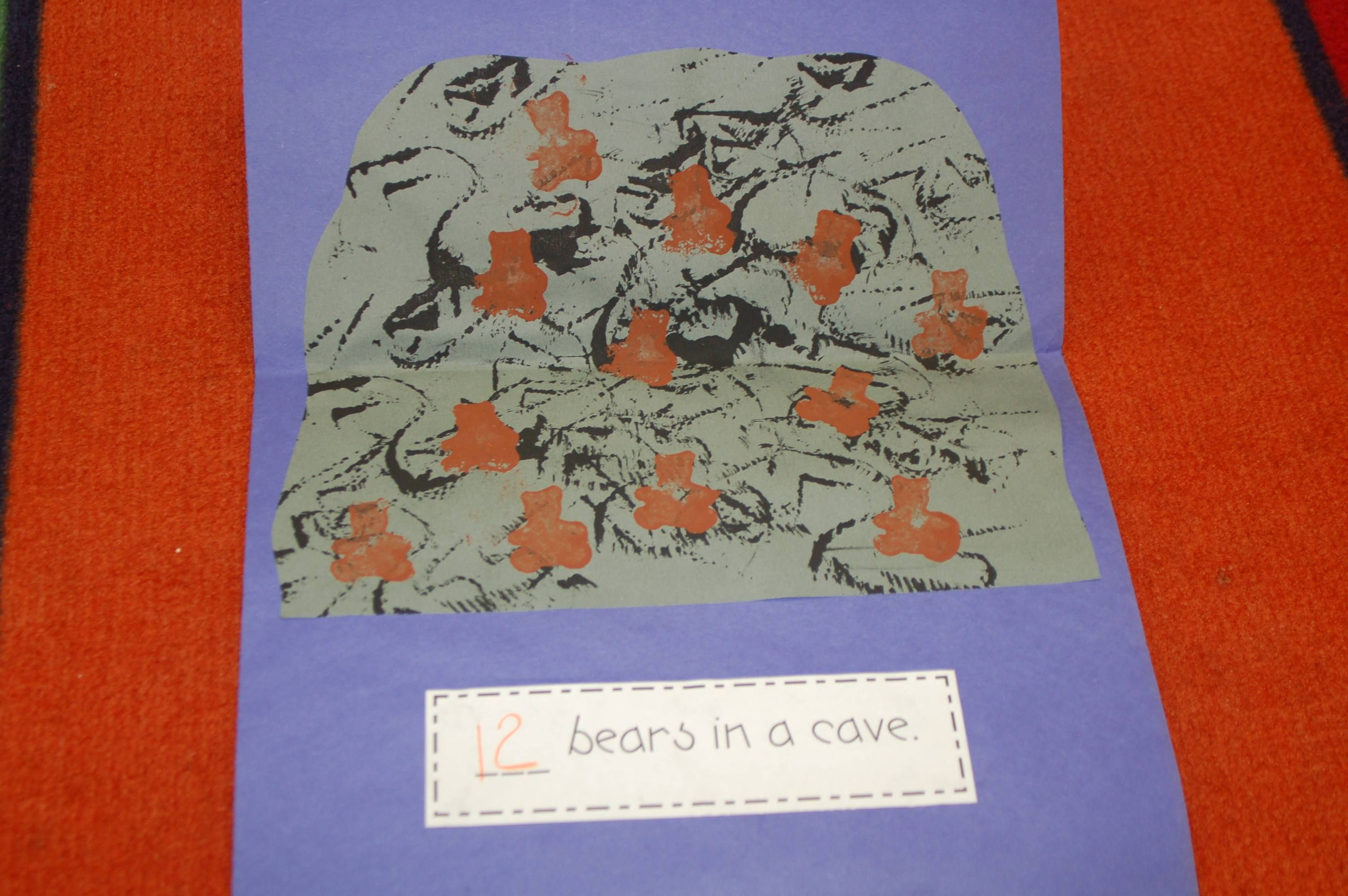 January Ideas Counting Bears In A Cave