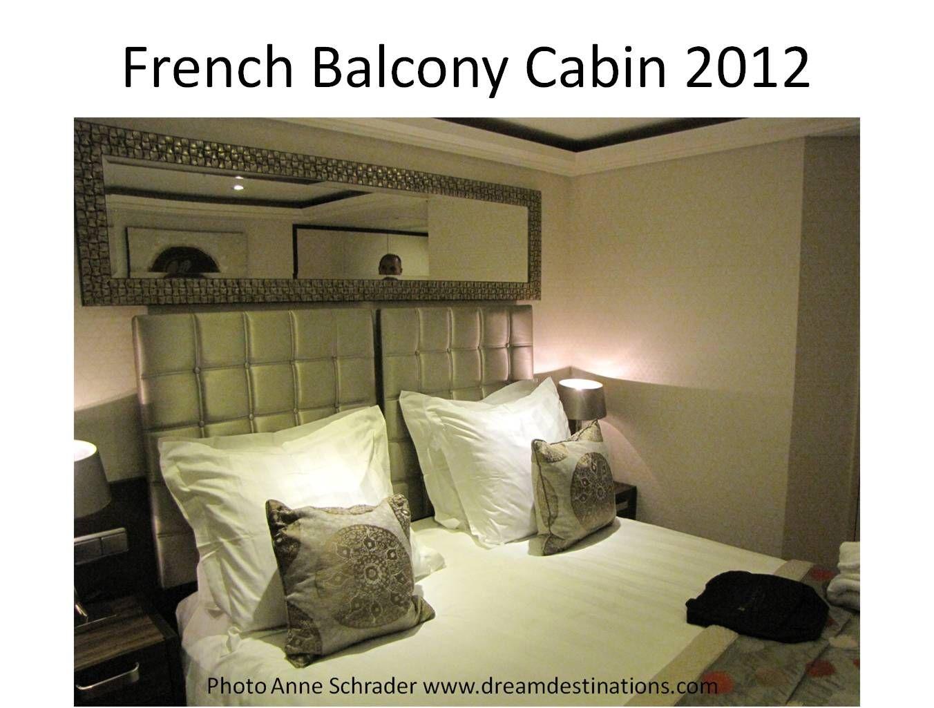 French Balcony Cabin