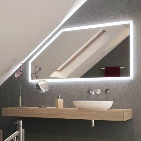 Badspiegel Fur Die Dachschragen Badezimmer Dachschrage