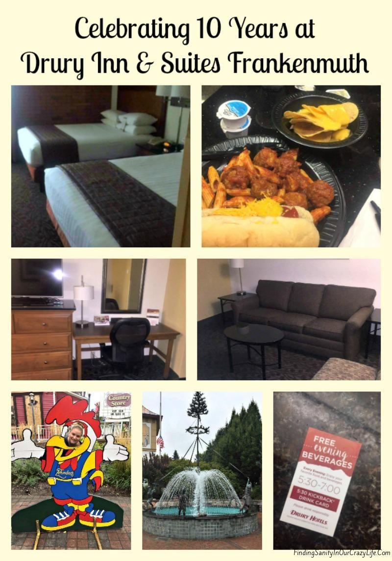 Celebrating 10 Years At Drury Inn Suites Frankenmuth Hotel