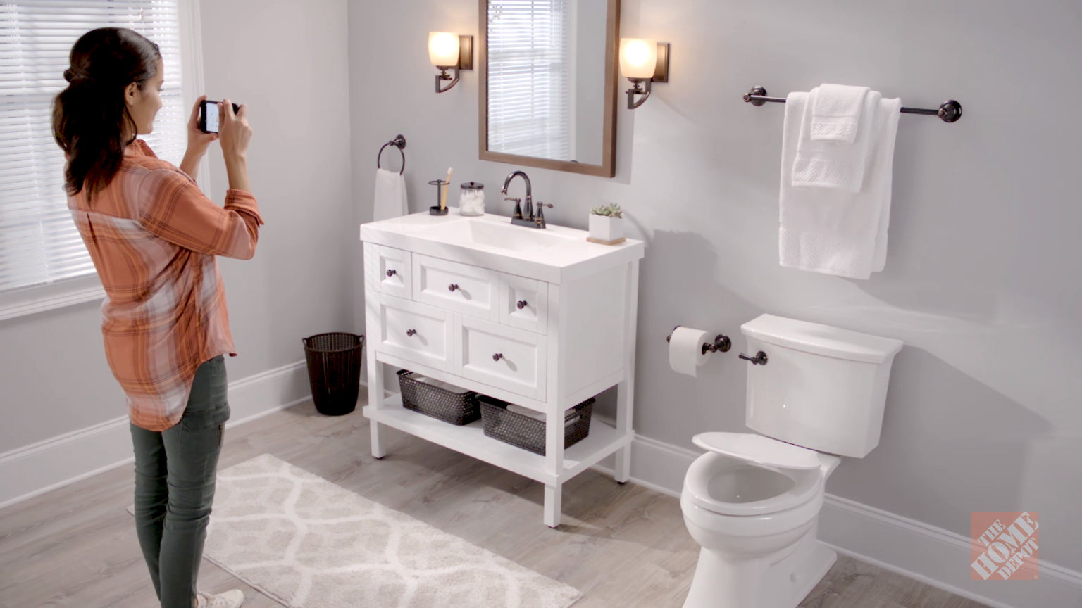Make A Big Bath Impact With A Little Bit Of Budget An Easy Weekend - How to update your bathroom on a budget