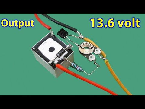 Automatic Cutoff 12v Battery Charger Youtube Electron