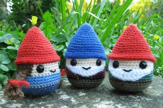 PDF of Chubby Gnome Amigurumi Pattern including por lucyravenscar ...