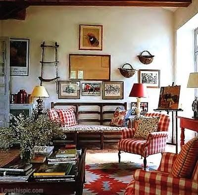 Rustic Country Living Room | Country Rustic Living Room Pictures ...