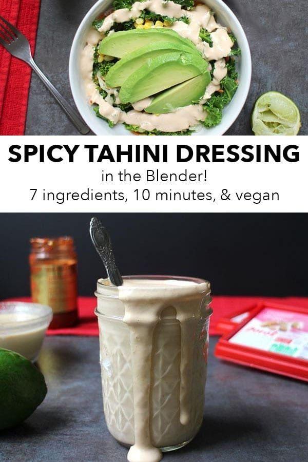 Spicy Tahini Dressing