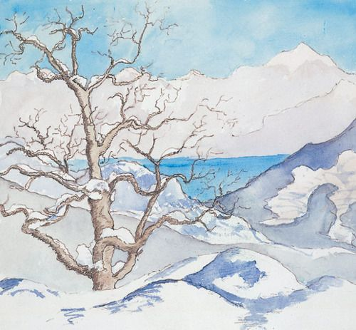 Hermann Hesse S Watercolours Deutsche Kunstler Hermann Hesse