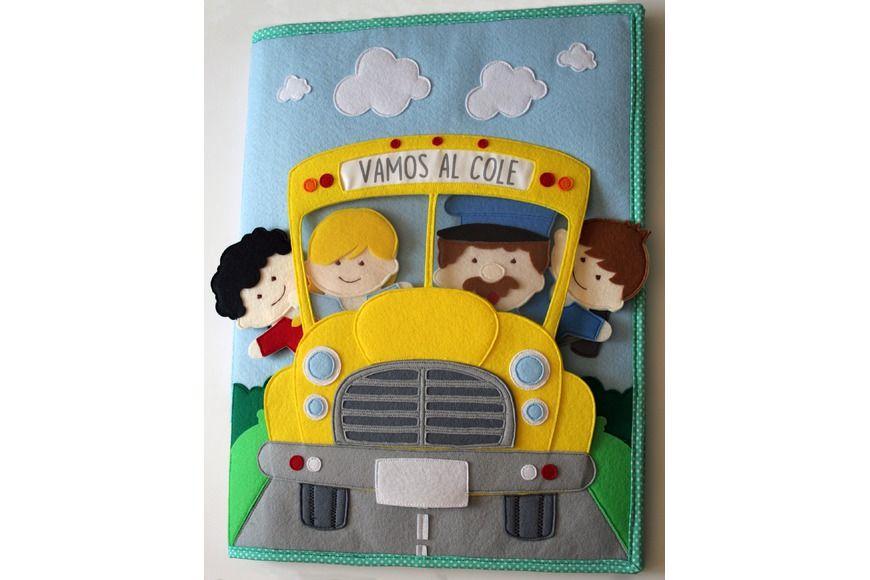 Proyectos creativos de juegos para niños con necesidades educativas especiales (TEA, TGD, TDAH, TEL...). Libros sensoriales - Quiet Books - Libros de tela