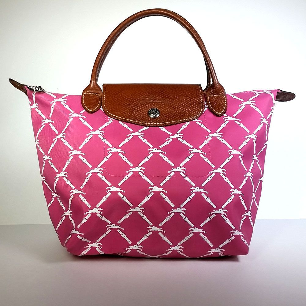 97386f6797f9 Longchamp Le Pliage Limited LM 1621471559 Made in France Pink Handbag   LOVELY   Longchamp  Clutch