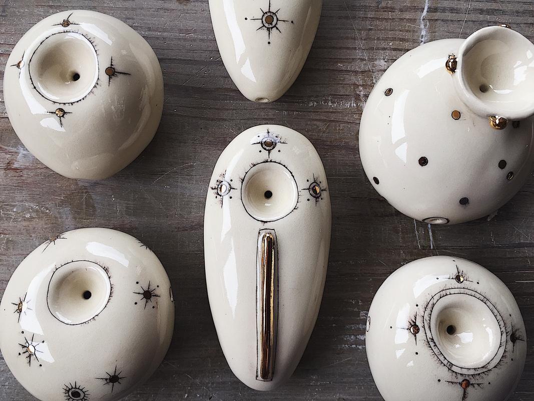 Ashley Young Ceramic pipes ✨ #ceramics #ceramicpipes | Ceramics ideas  pottery, Pipes and bongs, How to make ceramic